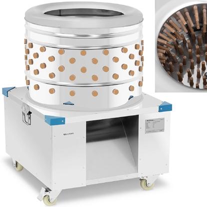 Skubarka maszyna do drobiu skubania obierania pierza 540 kg/h śr. 60 cm