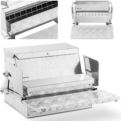 Karmidło karmnik dla kur drobiu zsypowy automatyczny 11.5 kg dla kur od 400 g