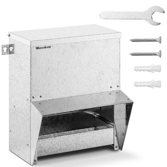 Karmidło karmnik dla kur drobiu zsypowy automatyczny 5 kg