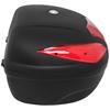 Kufer bagażnik centralny motocyklowy na 2 kaski z płytą montażową 62 l