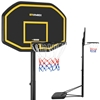 Zestaw kosz do koszykówki mobilny regulowany na stojaku wys. 200-305 cm