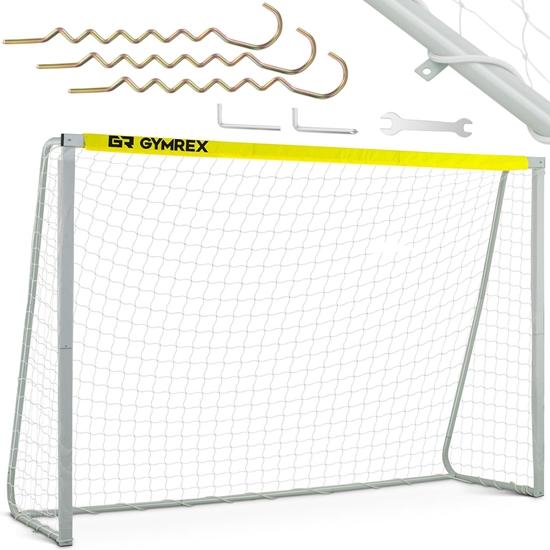 Bramka piłkarska do piłki ręcznej futsalu stadionowa treningowa 300x200 cm