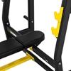 Ławka treningowa do wyciskania ze stojakami pod sztangę prosta 155-190 cm do 135 kg