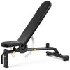 Ławka treningowa do ćwiczeń regulowana składana 9 poziomów do 135 kg
