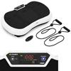 Platforma mata wibracyjna do ćwiczeń fitness z pilotem i linkami 3 strefy treningowe do 120 kg