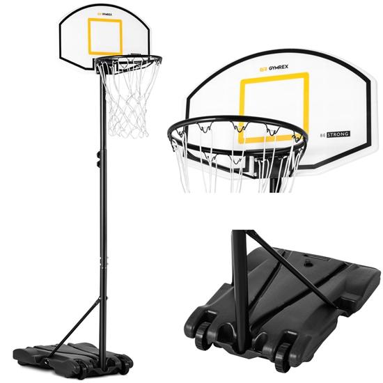 Kosz do koszykówki wolnostojący regulowany dla dzieci 178-205 cm