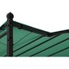 Zadaszenie ogrodowe altana wolnostojąca 2.6 x 3 x 2.5 m zielona