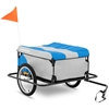 Przyczepka rowerowa bagażowa składana z plandeką do 50 kg