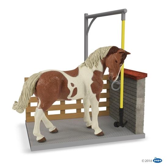 Papo 60116 Myjka dla koni  22,8 x 5,8 x 16,3 cm