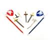 Papo 39260 Zestaw tarczy i mieczy 10szt. 1x11x18cm