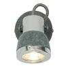 Kinkiet szary metalowy regulowany 50W GU10 Sabynio Globo 57000-1