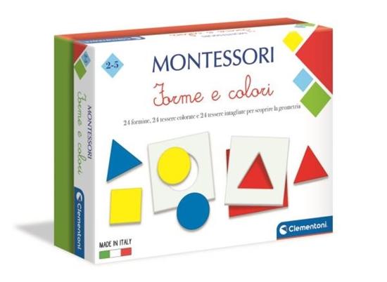 Clementoni Montessori Kształty i kolory 50692 (50692 CLEMENTONI)