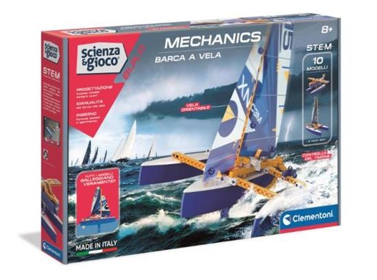 Clementoni Laboratorium Mechaniki. Pływający trimaran 50698 (50698 CLEMENTONI)