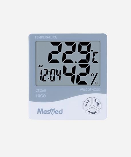 HIGROMETR z funkcją termometru i zegara MM-777 HIGO