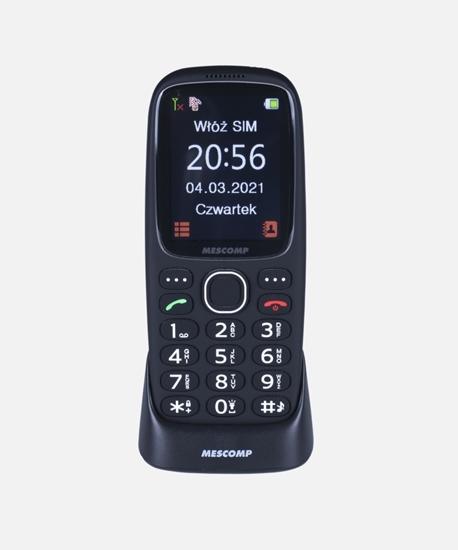 Telefon komórkowy dla seniorów Mescomp MT180 SOS Hektor Elegant