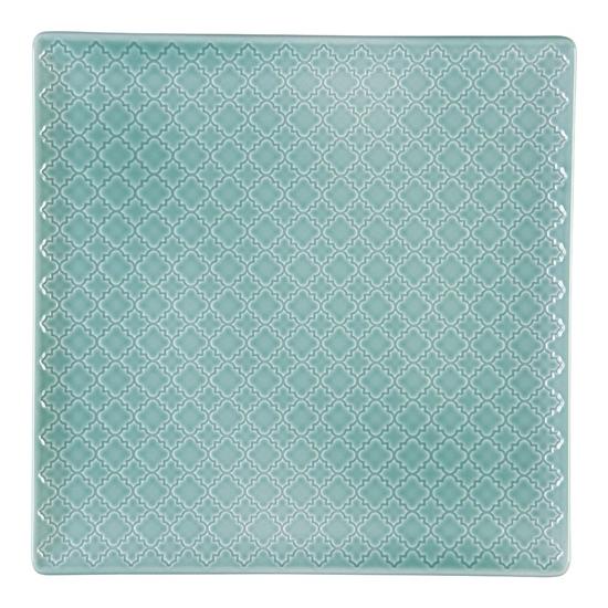 Talerz płytki kwadratowy 17 cm Marrakesz LB85