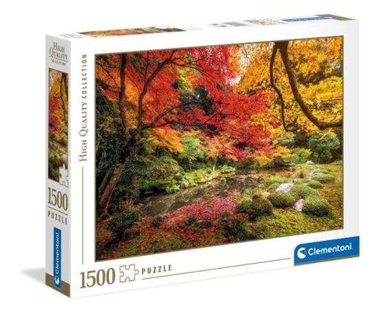 Clementoni Puzzle 1500el Jesienny park 31820 (31820 CLEMENTONI)
