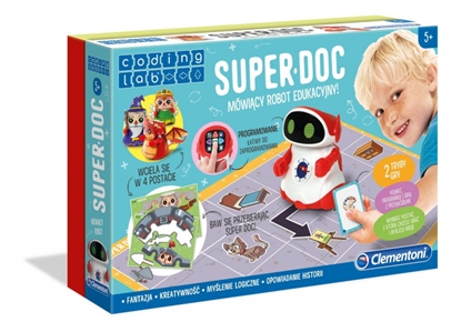Robot Educkayjny Mówiący Super DOC (GXP-733153)