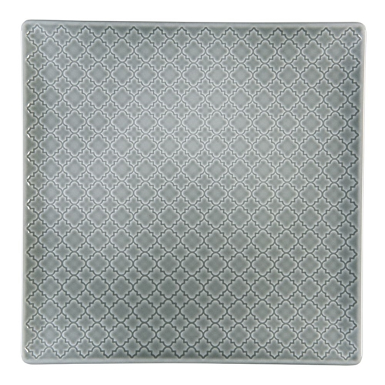 Talerz płytki kwadratowy 11 cm Marrakesz LB84