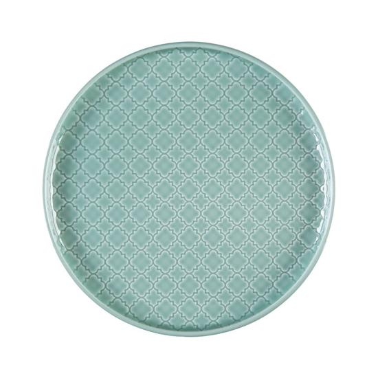 Talerz płytki okrągły 20 cm Marrakesz LB85