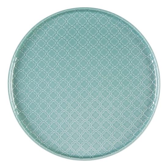 Talerz płytki okrągły 26 cm Marrakesz LB85