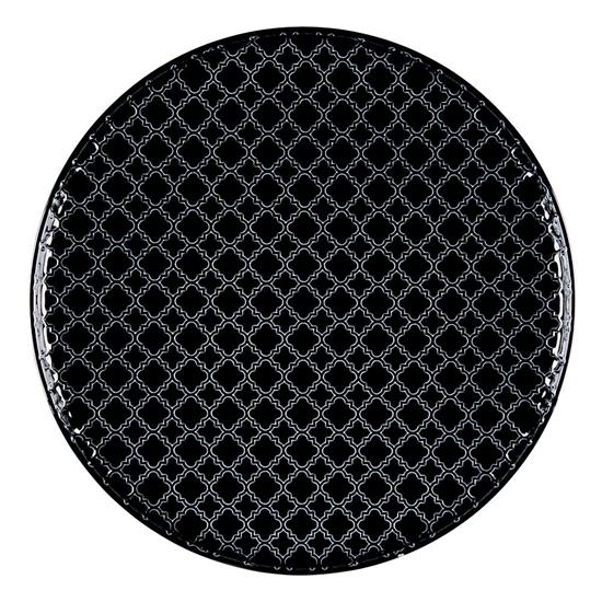 Talerz płytki okrągły 26 cm Marrakesz LB86