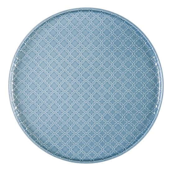 Talerz płytki okrągły 26 cm Marrakesz LB87