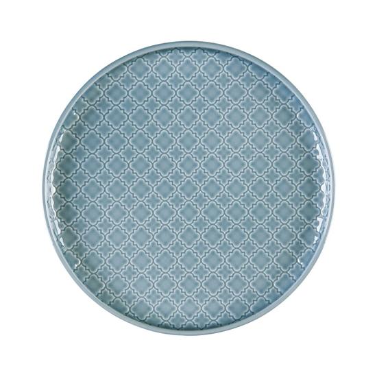 Talerz płytki okrągły 20 cm Marrakesz LB87