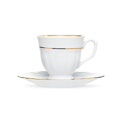 Garnitur do kawy 6/12 Maria Teresa Złota Linia B014