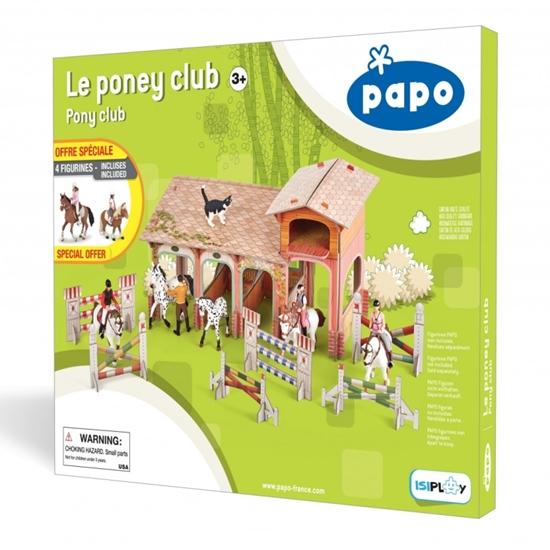 Papo 80313 Klub dla kucyków  42,5x33,8x4,3cm