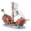 Papo 60256 Statek piracki z białymi żaglami 55,6x47x28cm