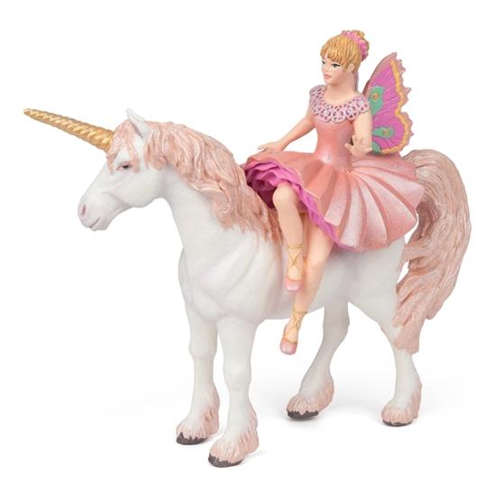 Papo 38822 Elf balerina na jednorożcu 16x6x15cm
