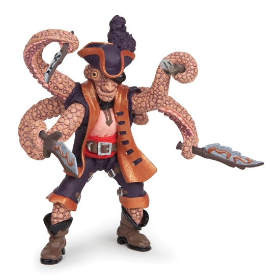 Papo 39464 Ośmiornica mutant pirat  7,5x6x9,3cm