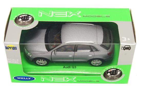 Welly 1:34 Audi Q3 -grafitowy