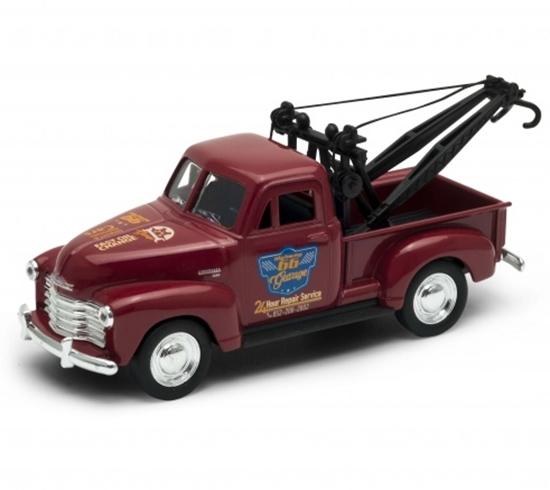 Welly 1:34 Chevrolet Tow Truck 1953 - czerwony
