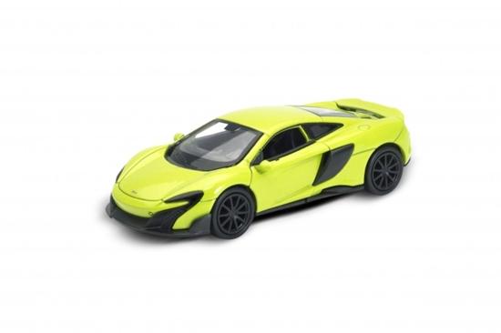 Welly 1:34 McLaren 675LT -seledynowy