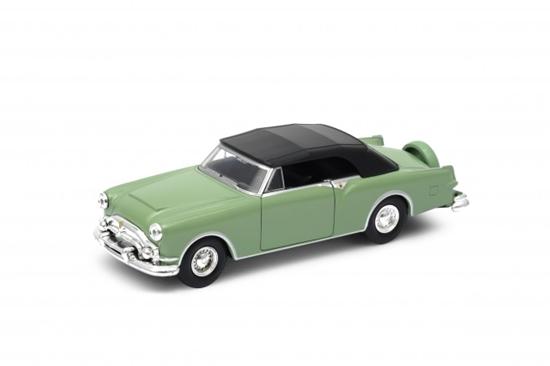 Welly 1:34 Packard Caribbean '53 (soft-top) -zielony