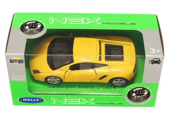 Welly 1:34 Lamborghini Gallardo LP560-4  -żółty