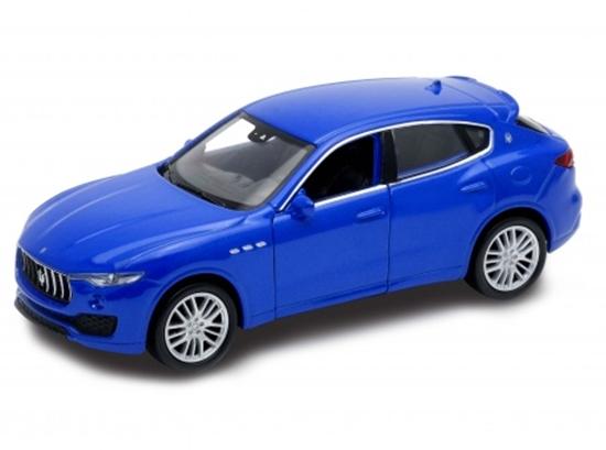 Welly 1:34 Maserati Levante - niebieski