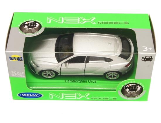 Welly 1:34 Lamborghini Urus - srebrny