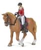 Papo 51564 koń z amazonką  10x16x19cm