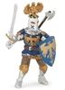 Papo 39362 Rycerz niebieski z orlim czubem 7x10x6,5cm