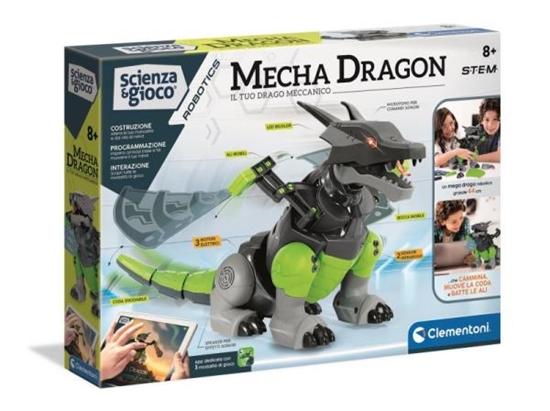 Clementoni Mecha Smok Mecha Dragon 50682 (50682 CLEMENTONI)