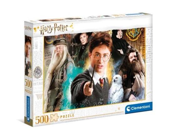 Clementoni Puzzle 500el Harry Potter 35083 (35083 CLEMENTONI)
