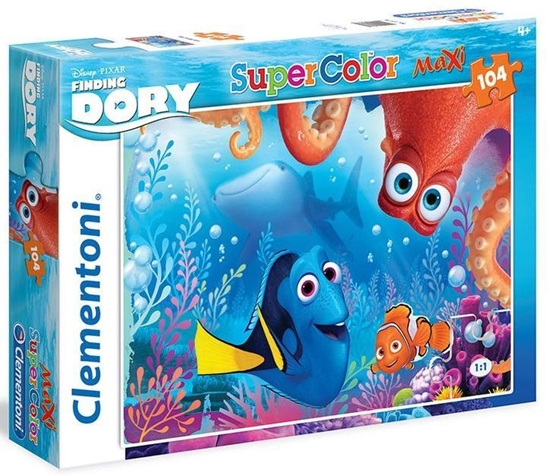 Puzzle 104 Maxi Gdzie jest Dory (23976 CLEMENTONI)