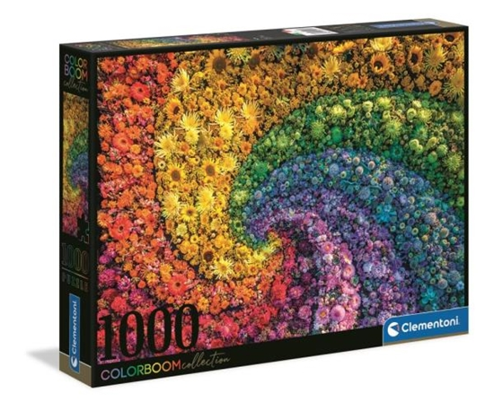 Clementoni Puzzle 1000el color boom Whirl. Wir 39594 (39594 CLEMENTONI)