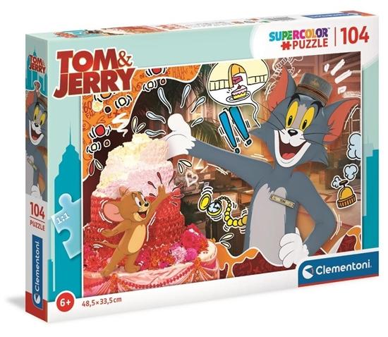 Puzzle 104 Super Kolor Tom&Jerry