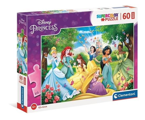 Puzzle 60 Maxi Super Kolor Princess