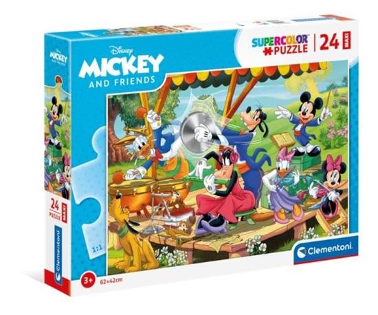 Clementoni Puzzle 24el Maxi podłogowe Mickey i Przyjaciele 24218 p6 (24218 CLEMENTONI)