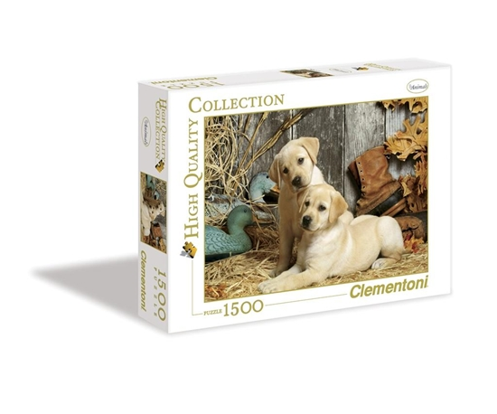Puzzle 1500 HQ Hunting Dogs (31976 CLEMENTONI)
